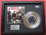 "THE BEATLES - Paperback Writer 7"" PLATINUM Disc WITH COVER"